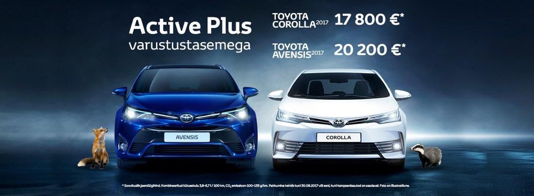 Toyota Avensis ja Toyota Corolla